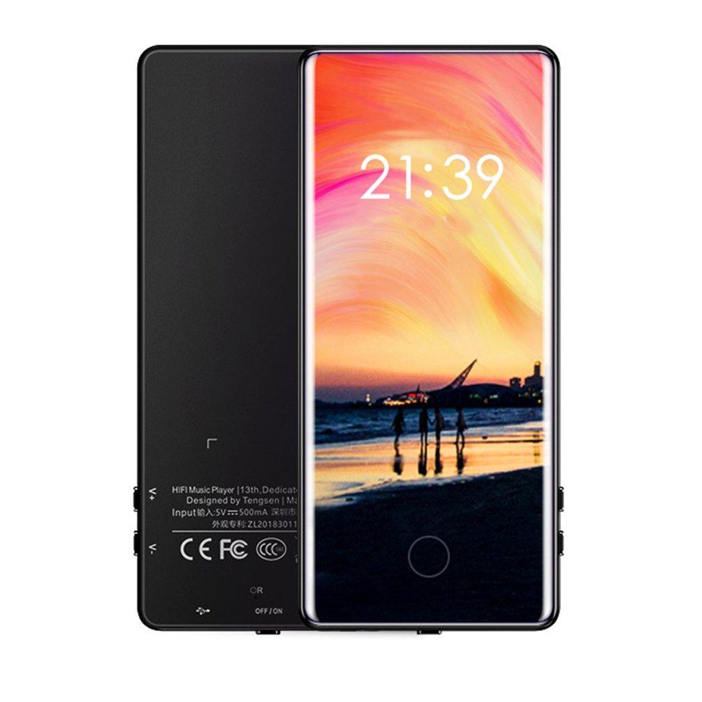 C18 Full Screen Touch Mp5 Walkman Student Mp4 Lossless Geluidskwaliteit Mp3 Ultra-Dunne Mp6 Handig Walkman