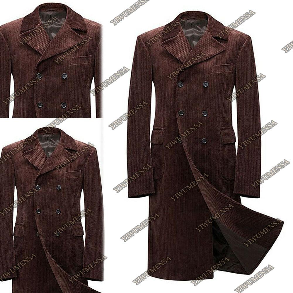 سروال قصير ملابس خارجية جاكيتات طويلة الأكمام كامل طول رجل بليزر 2021 الصلبة الدافئة الذكور خندق معطف مخصص الرجال معاطف