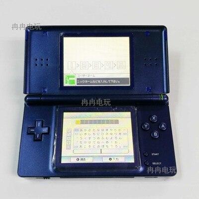 Color azul para consola de jugadores de Nintendo DS Lite usado de segunda mano para N-D-S-L piezas de reparación de consola de juegos