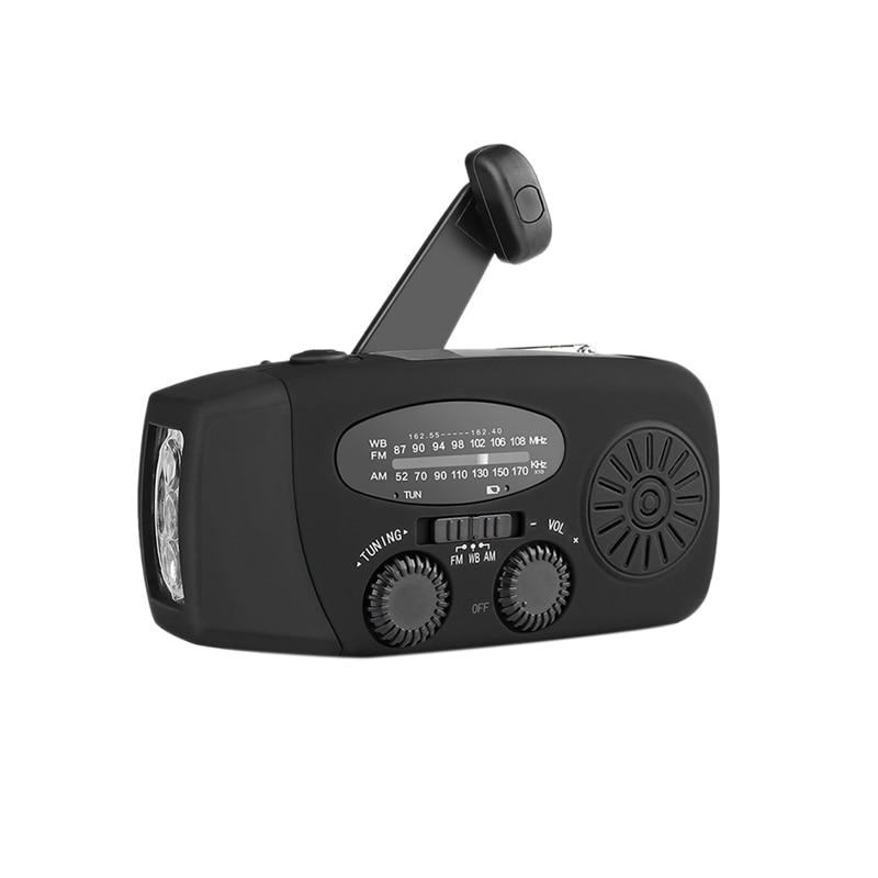 Mini Radio Solar portátil linterna Solar de emergencia Mp3 reproductor de música