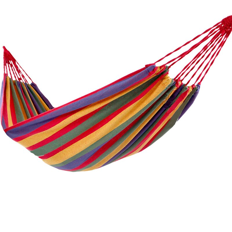 One piece, single double canvas hammock factory direct sale, camping supplies dormitory swing chair