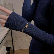 Exquisite Bell Bracelet Ins Special-Interest Design Adjustable Bracelet Japan and South Korea Light