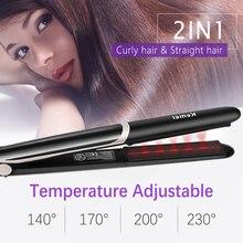 Kemei утюжок для волос, выпрямитель для волос, милые профессиональные щипцы для завивки волос