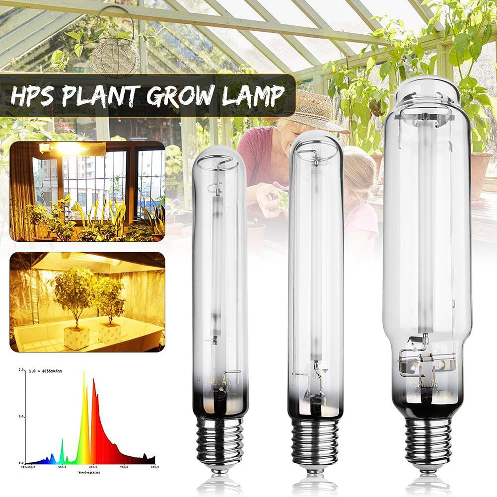 400W 600W 1000W E40 23Ra HPS Plant Grow Lamp High Pressure Sodium Lamp Energy Efficient Growing Lamps