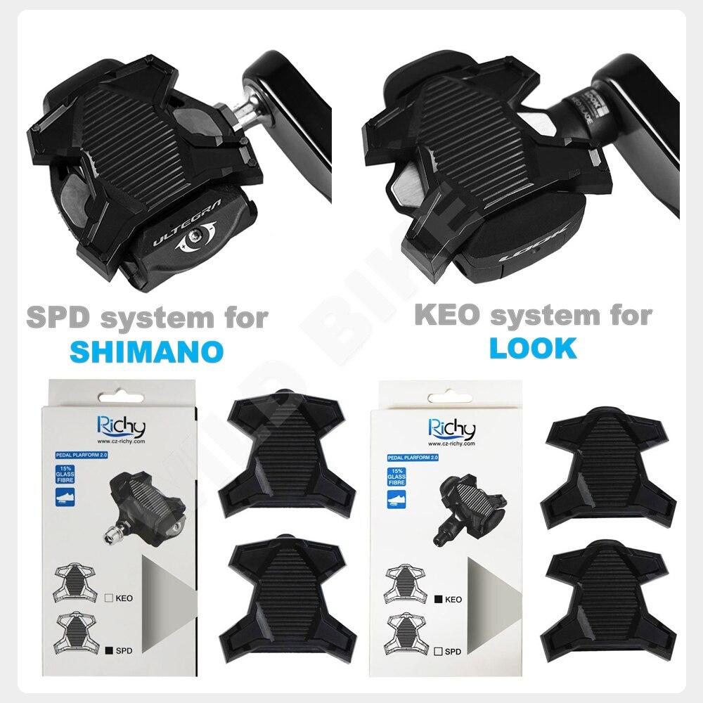 Pedales de bicicleta de carretera SPD y LOOK KEO Systems, accesorios spd/keo,...