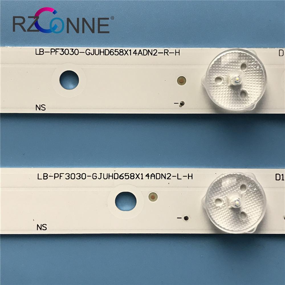 """Tira de LED para iluminación trasera para Philips 65 """"TV 65ADM2-L 65ADM2-R 65PUS6121 65PUF6656 LB-PF3030-GJUHD658X14ADN2-L/R-H TPT650UA LD65P19U"""