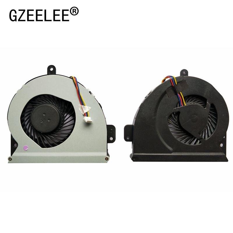 GZEELE Nueva cpu ventilador de refrigeración para asus X54H X54C X54L X54L-BBK4 X84C K84L X84H KSB06105HB A83 A84 A83S A84S X84 X84C X84H fan