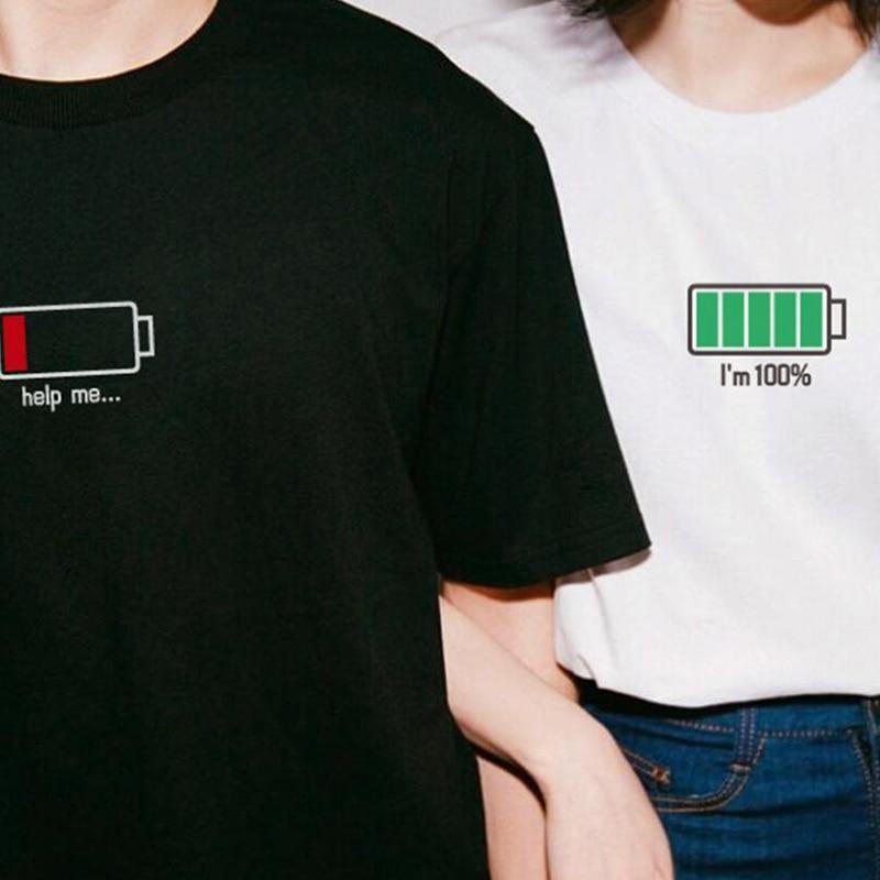 funny couple t shirts summer clothes for women e-girl tshirts ladies funny graphic print tshirt dropshipping custom tees tops