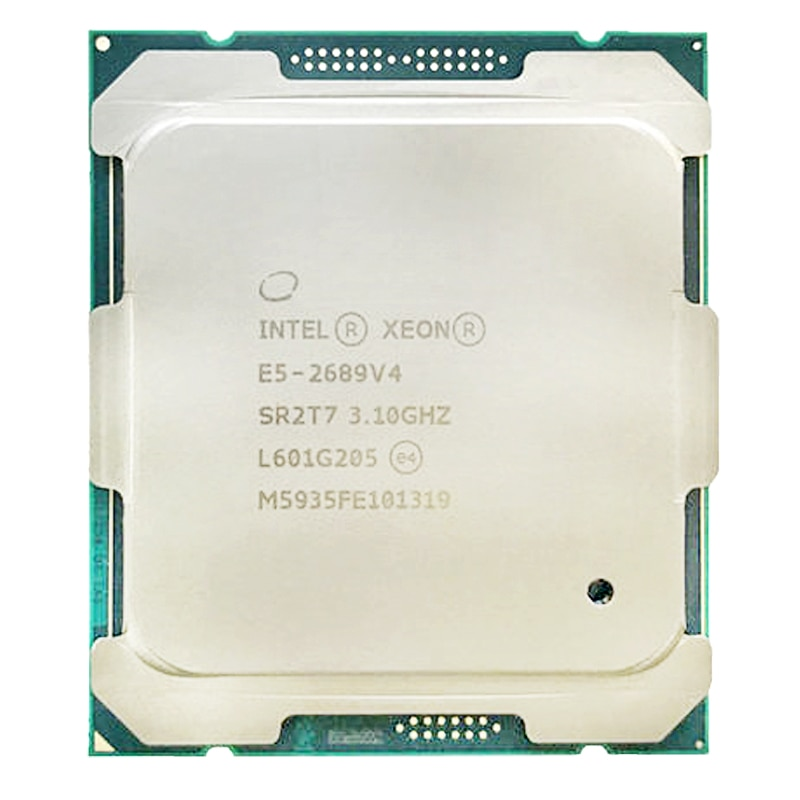 Intel Xeon-E5 2689 V4 E5 2689v4 3.10GHZ 10-Core 25MB SmartCache FCLGA2011-3 2011 V3165W