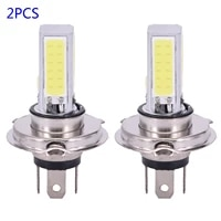 white fog lights 6000k lamps 9003 bubls h4 led low power work car driving