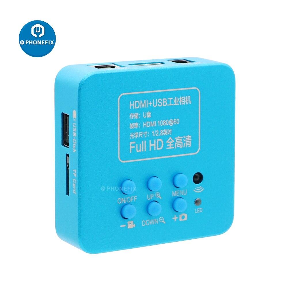 كاميرا مجهر HDMI عالية الدقة 2MP 30FPS 1080P USB كاميرا مجهر الهاتف الصناعي الرقمي للمجهر ثلاثي العينيات