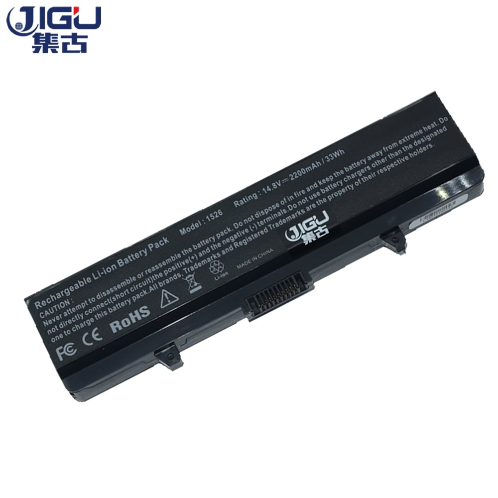 JIGU  Laptop Battery 14.8V GP952 M911G RU586 HP297 D608H RN873 GW240 C601H  For DELL For Inspiron 15