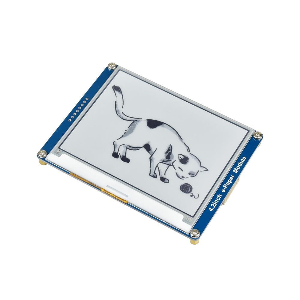 شاشة حبر إلكتروني لـ RPI Raspberry Pi Zero W WH 3B Plus 4B Arduino STM32 ، وحدة شاشة 4.2 بوصة 400X300 SPI Epaper Eink E-paper لـ RPI Raspberry Pi Zero W WH 3B Plus 4B Arduino STM32