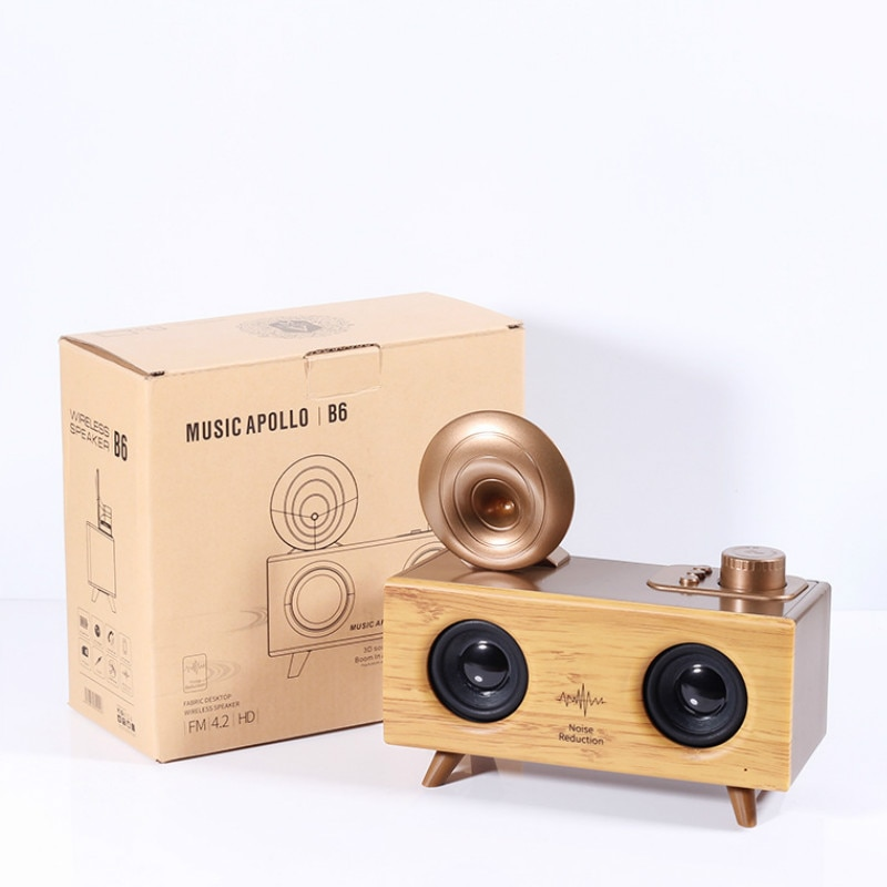 High Power Portable Boombox Home Wireless Bluetooth Speaker Subwoofer Loudspeaker Super Bass Surround Retro Soundbar Big Radio enlarge