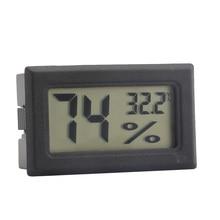 Hygromètre à cigares numérique température humidimètres accessoires pour cigares hygromètre testeur dhumidité pour cave à cigares