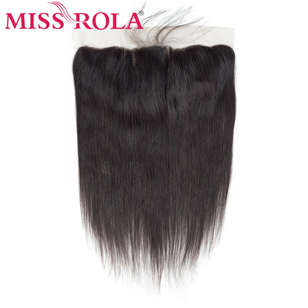 Miss Rola-وصلات شعر بشري بيرو ، وصلات شعر ناعمة من الأذن إلى الأذن ، لون طبيعي ، 13 × 4