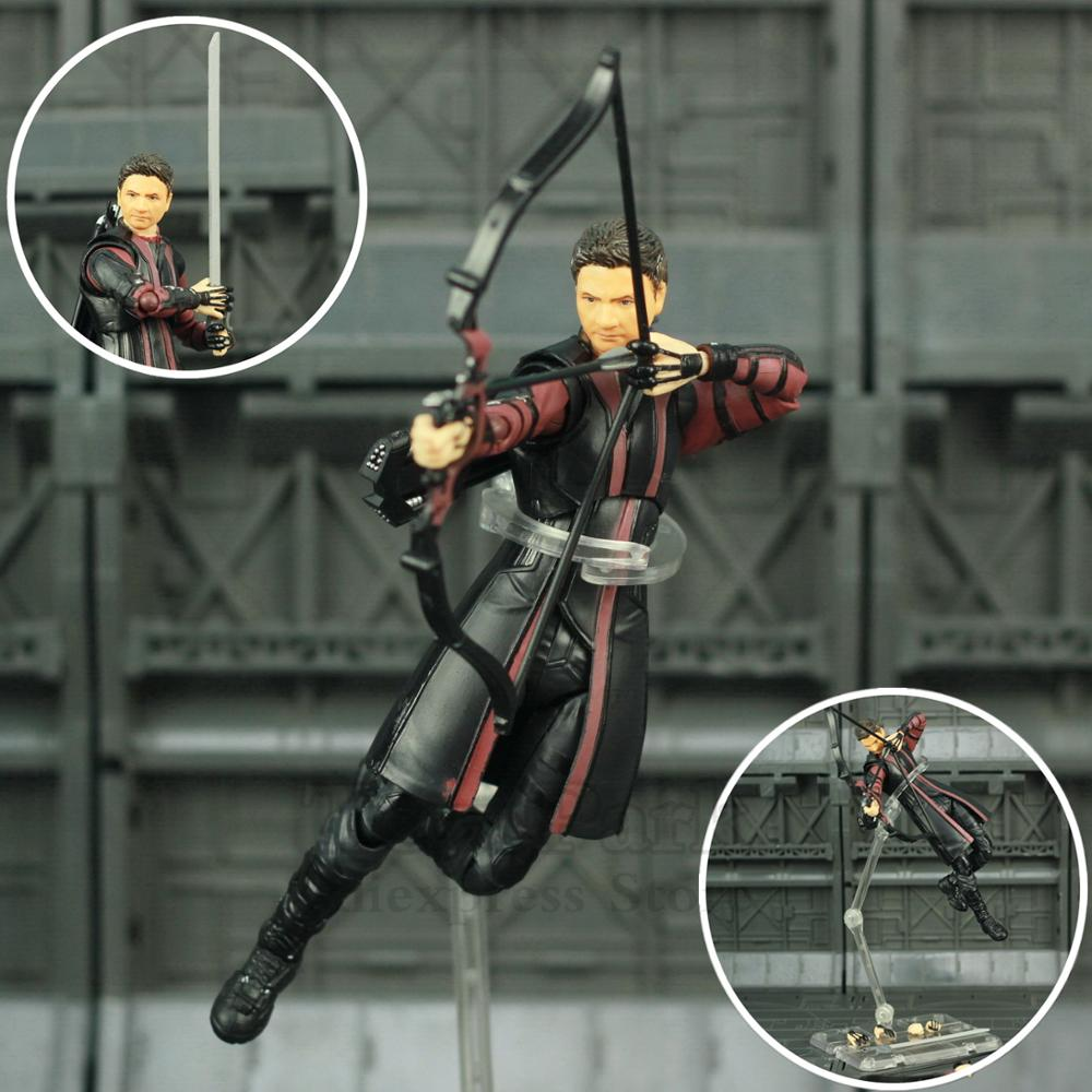 "Marvel Avengers 3 Infinity War Hawkeye 6"" Action Figure Goliath Endgame Ronin KOs SHF Legends Doll Toys"