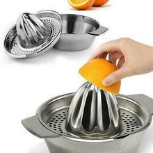 عالية الجودة عصارة ليمون الفولاذ المقاوم للصدأ الليمون كليب عصارة عصارة K8M8 المنزل عصارة الفواكه البرتقال دليل البرتقال D9R8