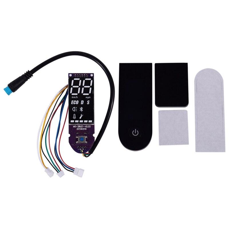 Super venta-nuevo enchufe Bluetooth placa de circuito y cubierta de tablero para Xiaomi Mijia M365 Scooter