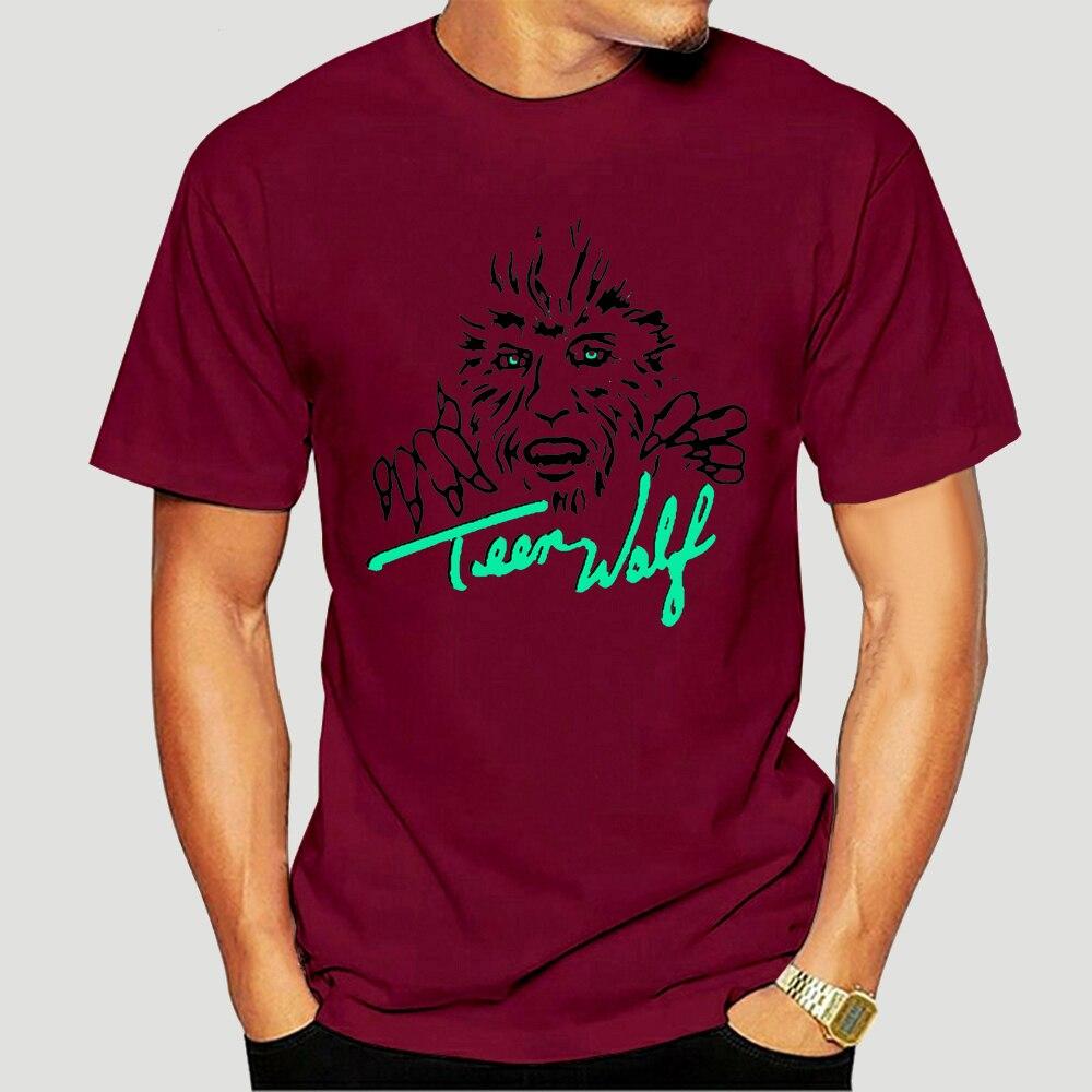 Camiseta masculina teenwolf tshirt camisa feminina 6822d