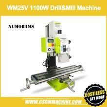 Numobams WM25V Boren & Freesmachine/700*180 Mm Werktafel 1100W Motor Power Freesmachine