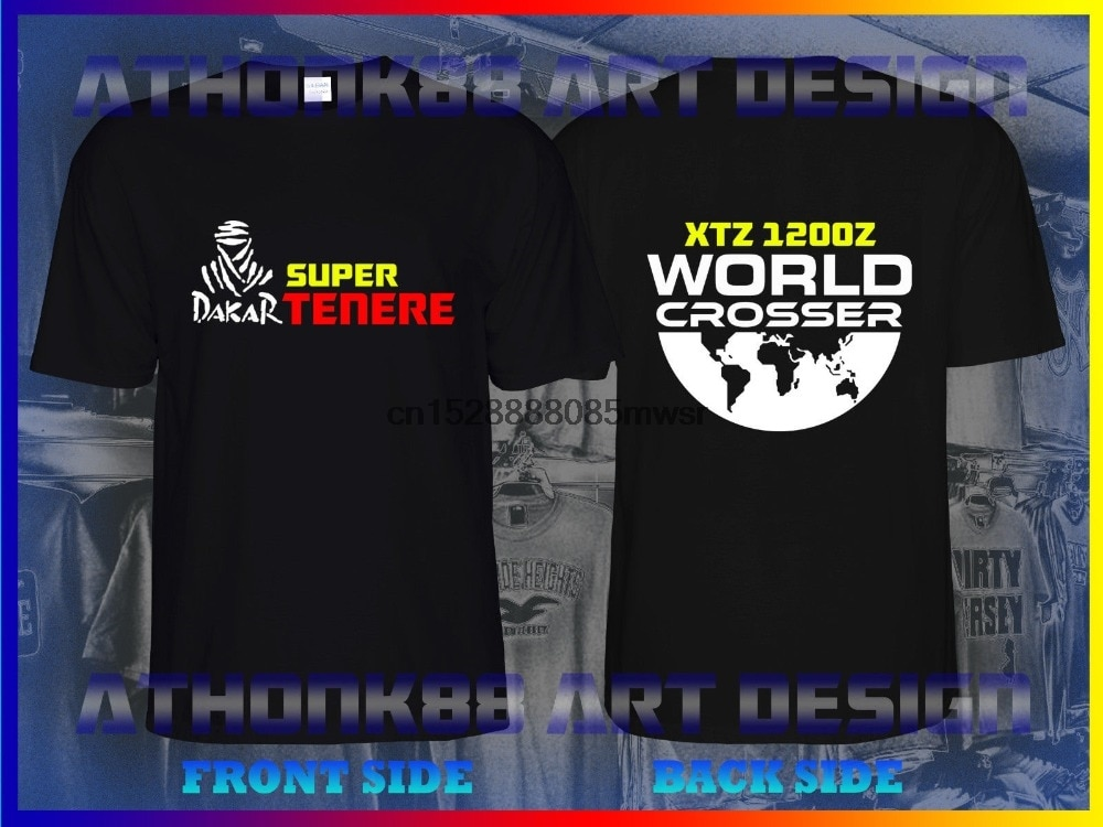Camiseta Homme 2019 New YAM SUPER TENERE XTZ 1200Z motocicleta