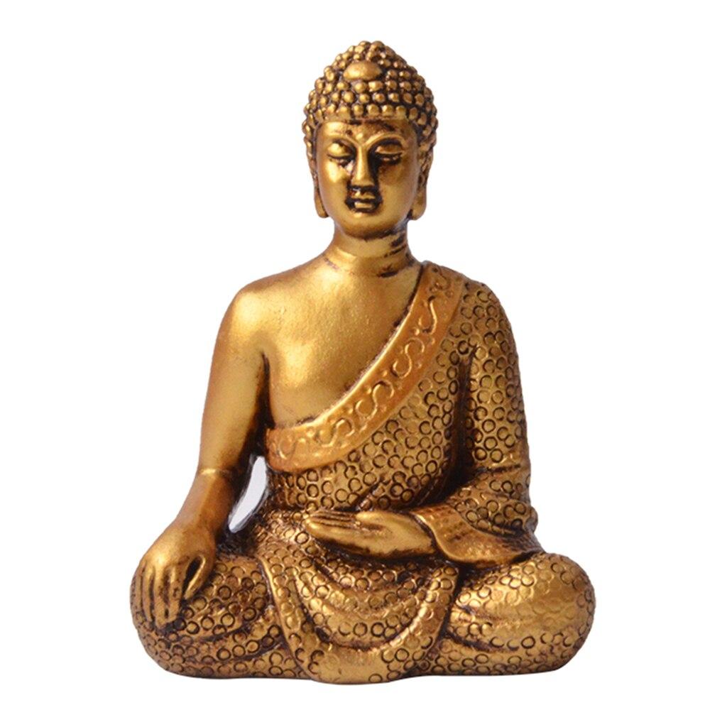 Bouddha méditant petite Statue Figurine décorative illumination orientale