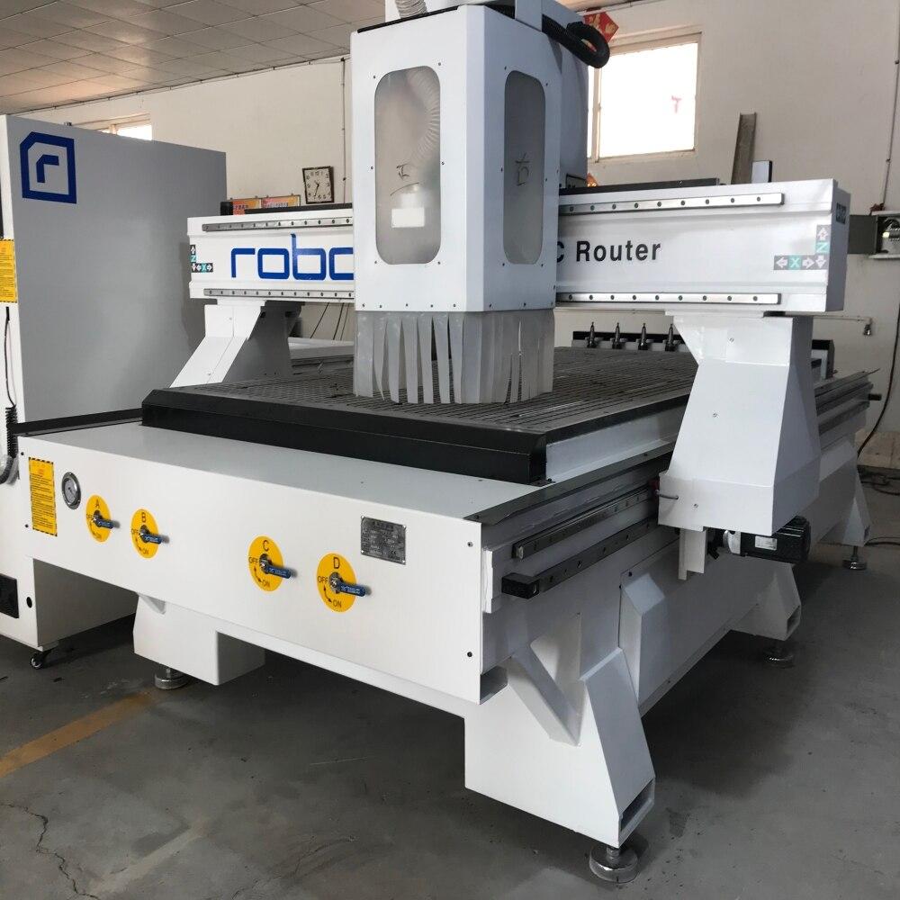 Fresadora de madera ATS CNC con cambiador automático de herramientas/máquina de carpintería CNC para fabricación de muebles enrutador cnc/fresadora de madera ATC cnc
