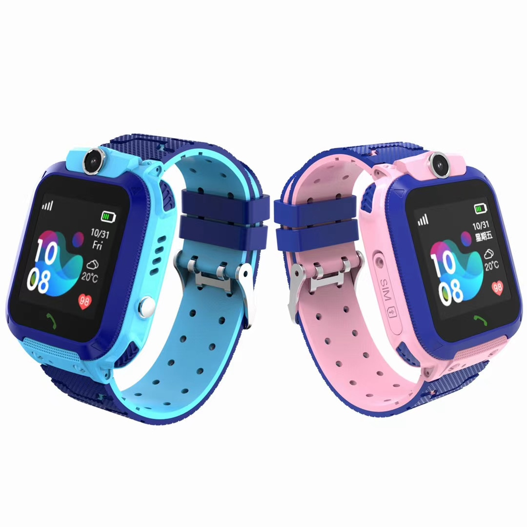 2021 New BIBINBIBI kids smart watch touch screen camera Professional SOS call LBS positioning waterp