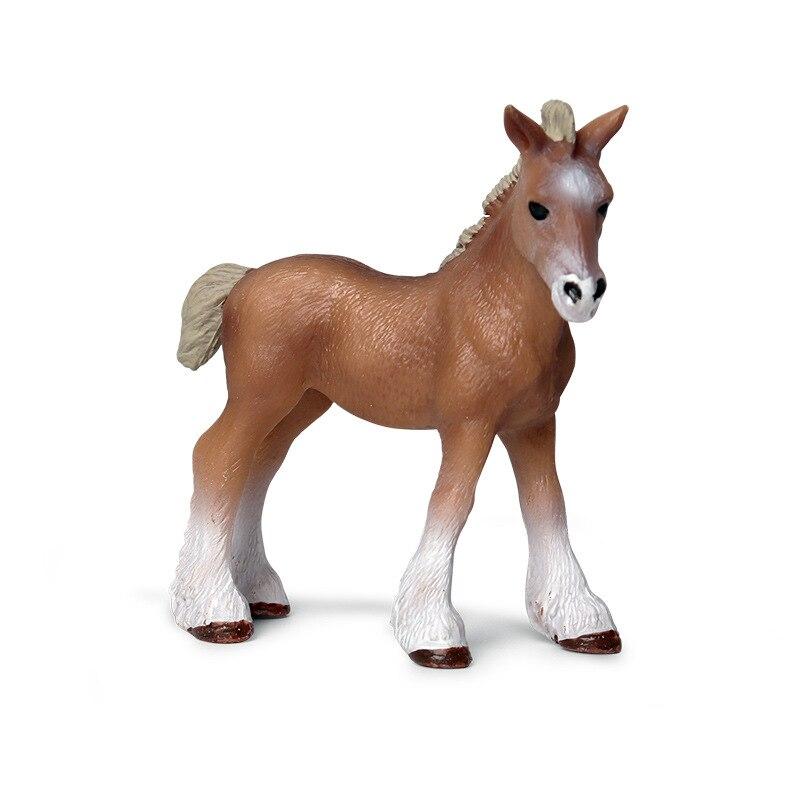 Simulación infantil de modelo de animal salvaje sólido pequeño modelo de juguete de coleccionismo de plástico de Clyde Del Mar