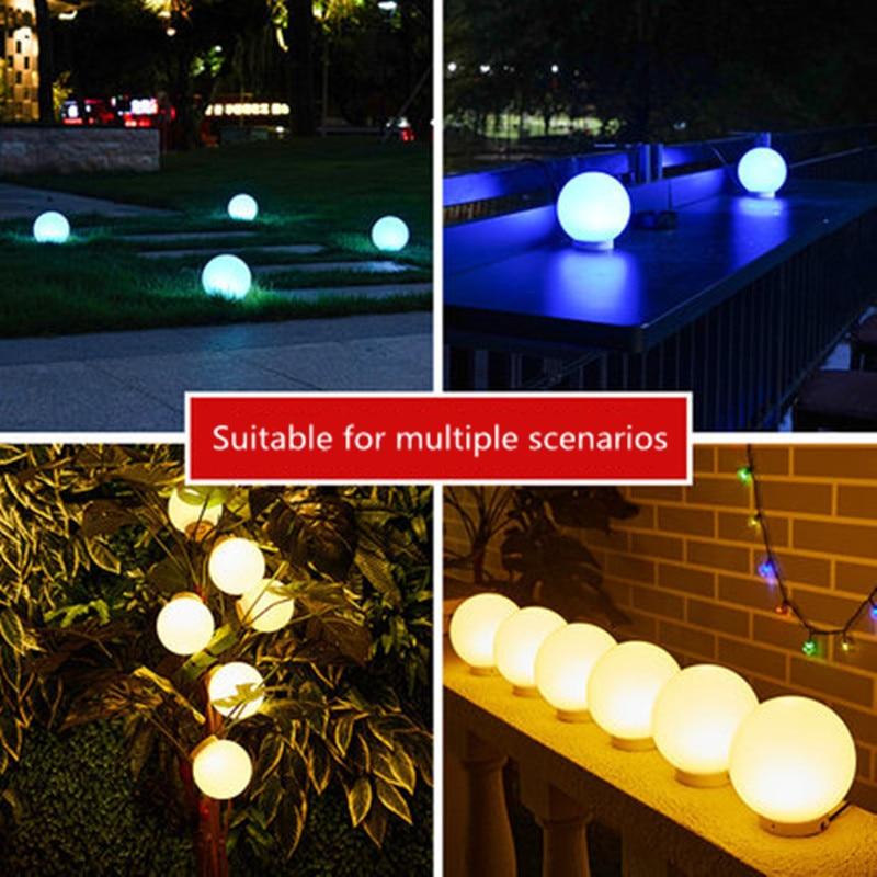 Solar LED Garden Lights Outdoor Waterproof Decorative Lights Garden Villa Wall Lights Outdoor Colorful Lawn Lights Floor Lamps enlarge