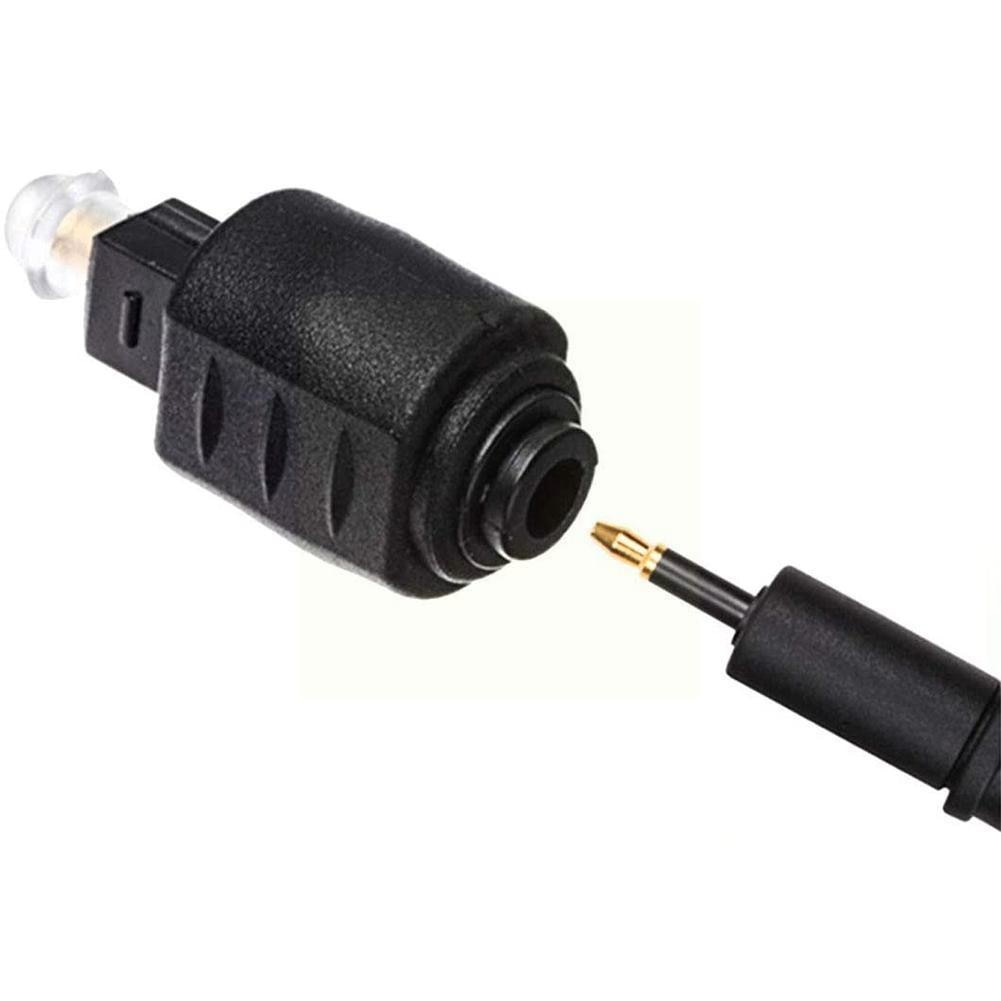 To Audio Jack 3.5mm Female Mini M Plug Digital F Male Dvd Connector Converter Tip Fiber For Amplifie