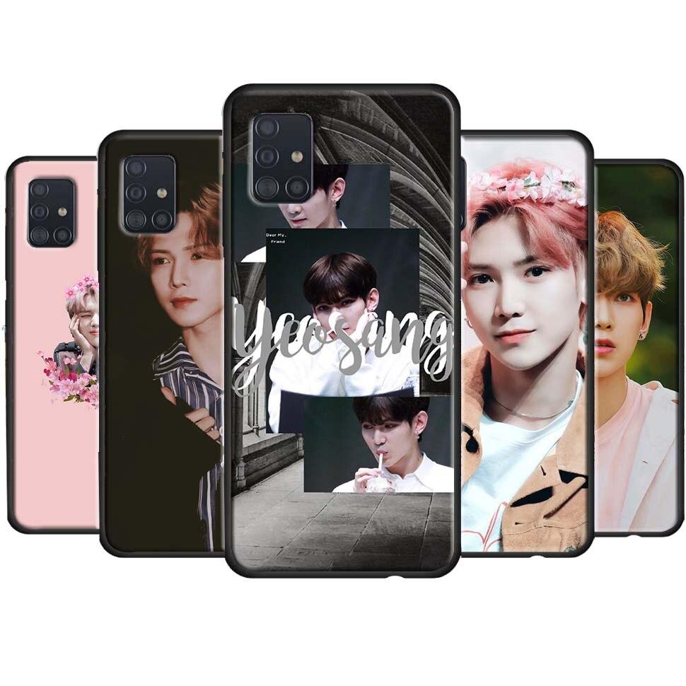 Ateez San Yeosang Mingi Case For Samsung Galaxy A50 A70 A51 A71 A40 A30S A20 A7 Nota 10 S8 S10 S20 S9 Plus Ultra