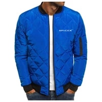 2021 new spacex mens autumn winter jacket track field sportswear high quality casual personality hoodie mens zipper jacket