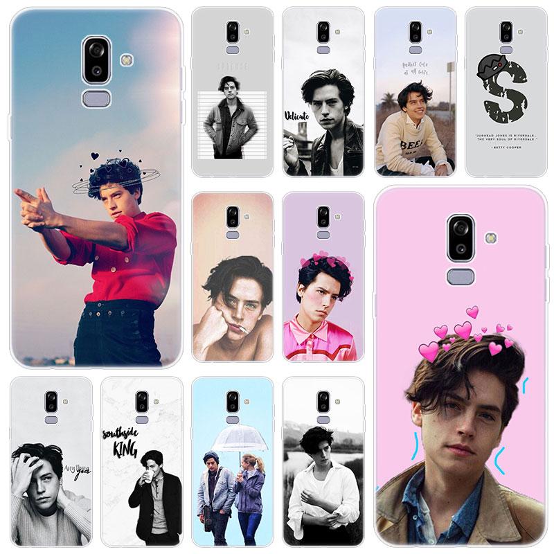 Hot Riverdale Cole Sprouse Silicone Case for Samsung Galaxy J2 Pro J4 Plus J6 J7 Prime J8 2018 J4 Core J3 2016 J5 2017 EU Cover