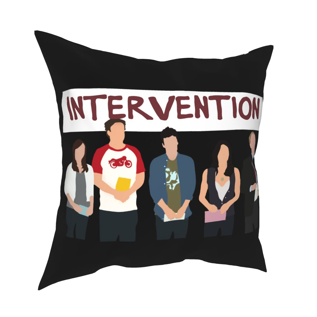 Intervention How I Met Your Mother Pillow Cover Home Decorative Tv Show Cushions Throw Pillow for Living Room Polyester