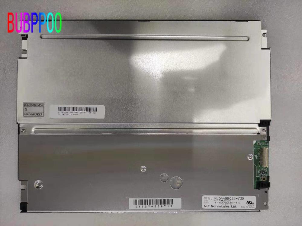 NL6448BC33-70D الأصلي نوفو 10.4 بوليكادا شاشة LCD الفقرة NEC