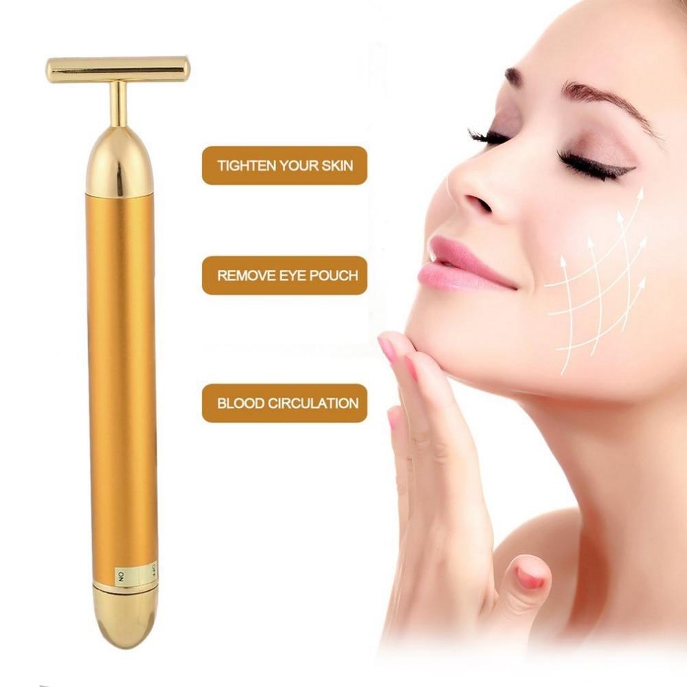 Energy Beauty Bar Slimming Face Massage Tool Facial Roller Vibration Massager Stick Lift Skin Tightening Wrinkle