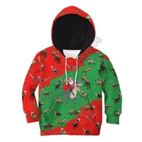 love dinosaurs 3d printed hoodies kids pullover sweatshirt tracksuit jacket t shirts boy girl funny animal clothes 09