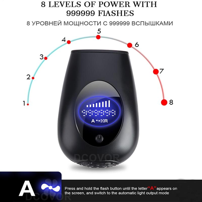 999999/900000 Flashes New IPL Epilator Permanent IPL Photoepilator Hair Removal depiladora Painless electric Epilator Dropship enlarge