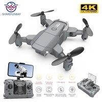2021 Новый KY905 мини Дрон 4K HD камера 1080P WiFi Fpv давление воздуха высота удержания серый складной Квадрокоптер RC Дрон игрушка