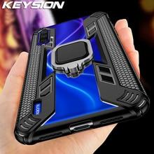 KEYSION Shockproof Armor Case for Xiaomi Mi A3 Note 10 Pro 9T Mi 9 Lite CC9 Pro Phone Cover for Redmi K20 Note 8 Pro 8T 7 K30 5G
