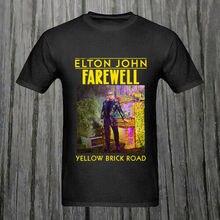 Elton John Farewell Yellow Brick Road concert tour 2019 T-Shirt Size Men Shirt