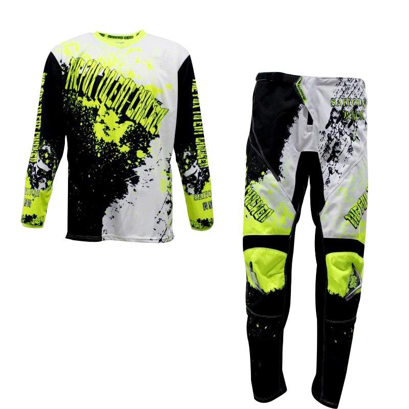 2020 MX Jersey pantalones Motocross Set Jersey y pantalones traje de carreras Jersey + Pantalones motociclismo combinación