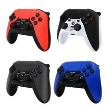 Bluetooth Wireless For PS4 Gamepad -axis Vibration Touch Pad For P4 Gamepad With Light Bar Gamepads