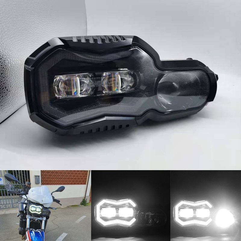 E24-mark LED الدراجات النارية العلوي الجبهة العارض المصابيح الأمامية الجمعية ل BMW F800GS F800R F 650 700 800 GS F 800GS ADV مغامرة