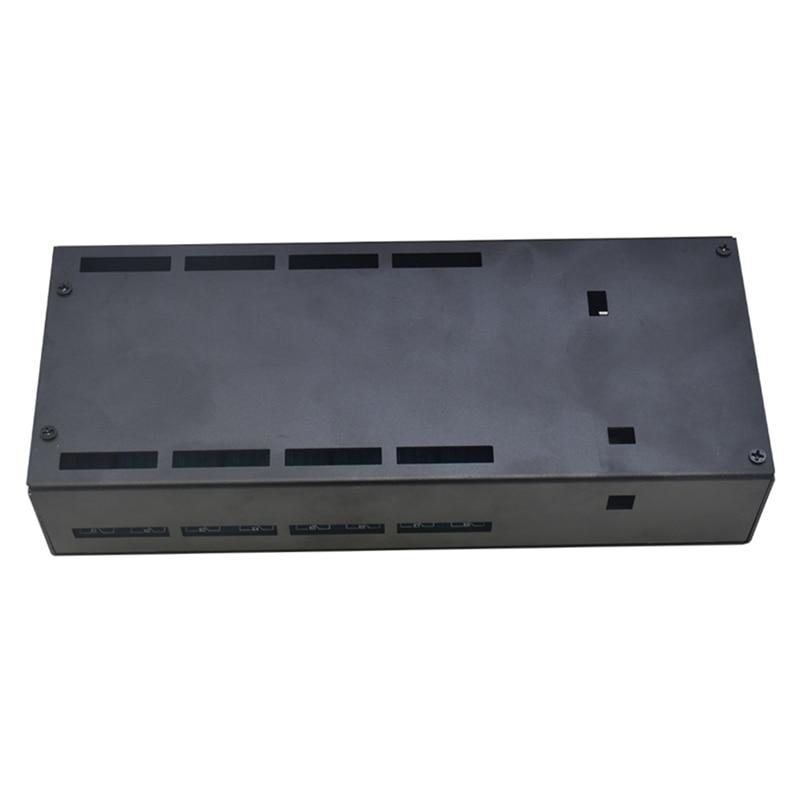 وحدة التحكم في NC-1000 إيثرنت LAN WAN شبكة خادم الويب Rj45 ميناء 16 قناة التتابع هو لوحة تحكم إيثرنت