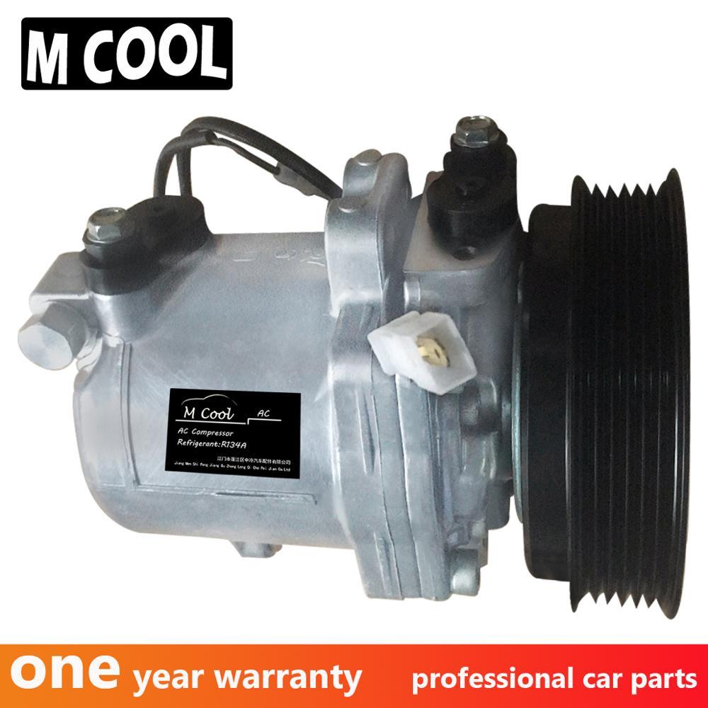 Para SS10LV12 Auto compresor de aire A/C Suzuki Jimny Baleno 9520170CN0 9520170CN2 9520170CL0 9520077GA0 9520077GA1 9520072BE0