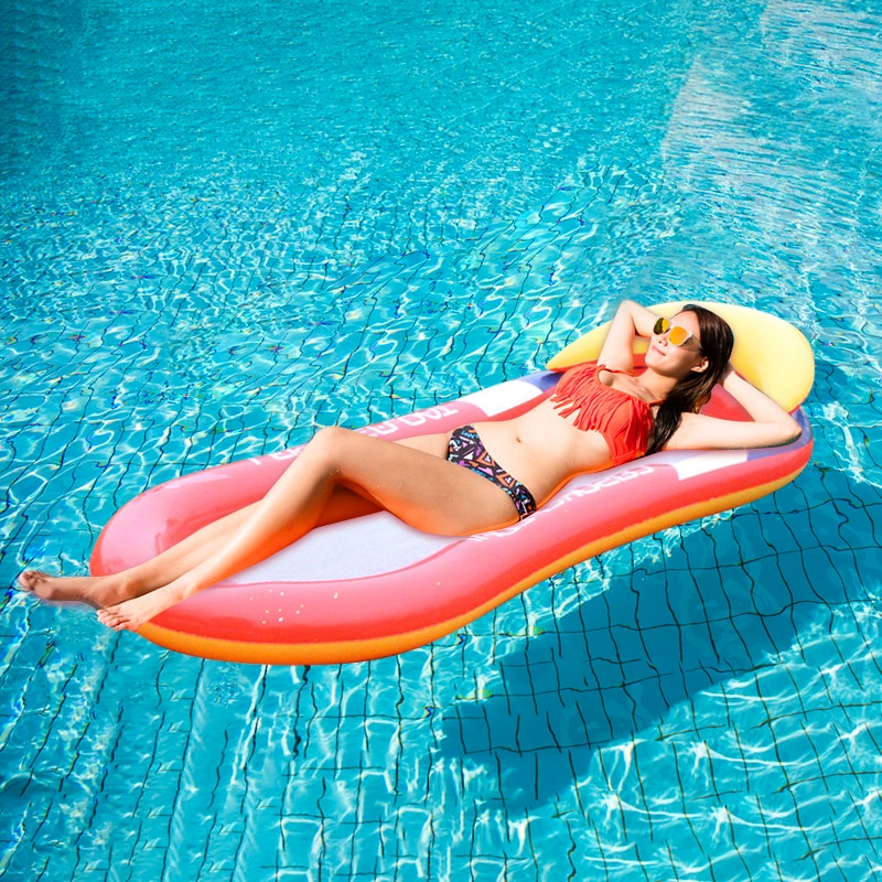 180cm giant inflatable beer cup beer bottle shap air mattress air bed adults kids floating row water fun toys beach boia piscina Inflatable Hammock Floatings Row Foldable Inflatable Mattress Floating Floating Sleep Bed Lounge Chair Beach Summer Air Mattress
