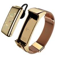 Мужская и женская Bluetooth-гарнитура цветной экран Смарт-Браслет спортивный монитор многофункциональный вызов 2 в 1 отдельные Смарт-часы